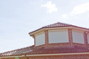 dormer windows with domestic roller shutters